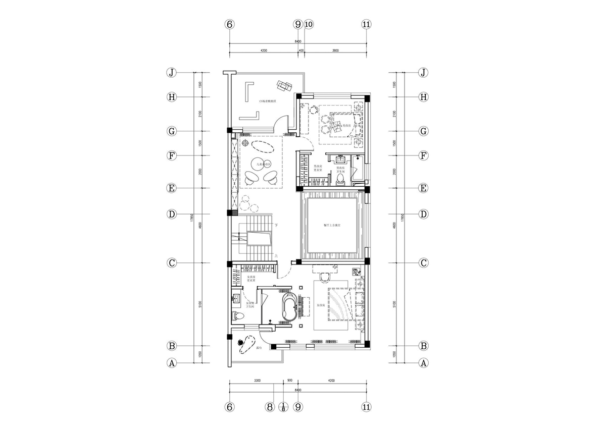 Floorplan - An opulent chinese mansion straight out of the 80s