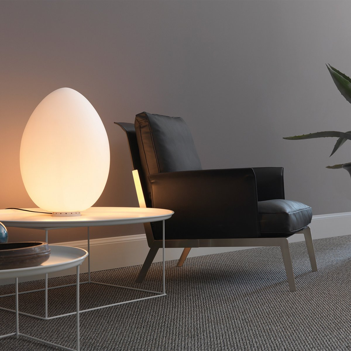Glowing Egg Lamp Interior Design Ideas