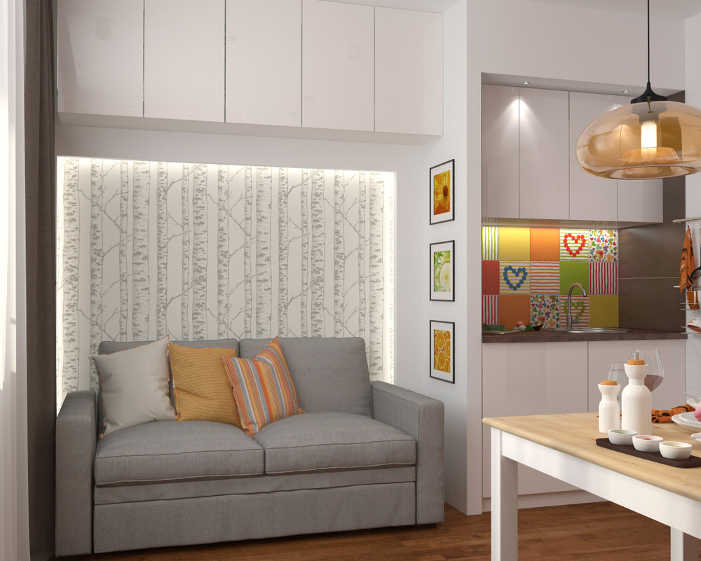 House design for 42 square meters - 4