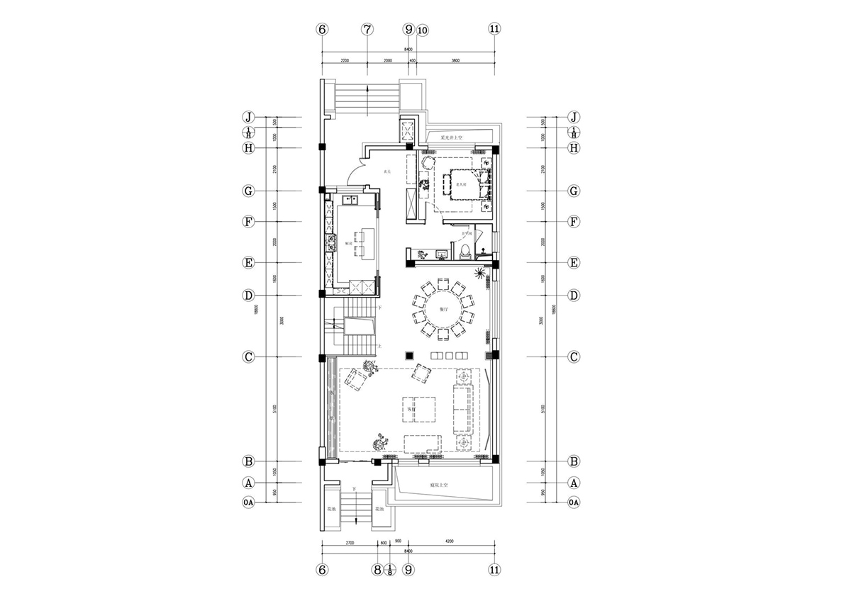 House Layout Floorplan - An opulent chinese mansion straight out of the 80s