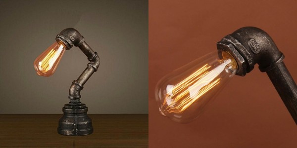 BUY IT. This Industrial Style Table Lamp Would ...