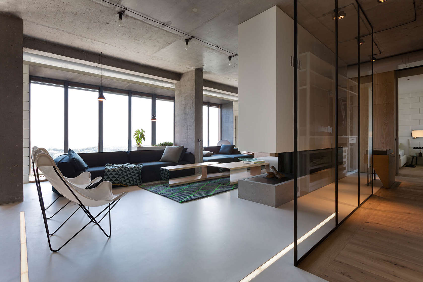 A smart penthouse in kiev is the perfect party pad for How to design a loft
