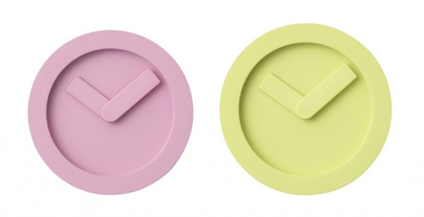 The Icon Clock's minimalist design makes it a striking addition to a modern home.