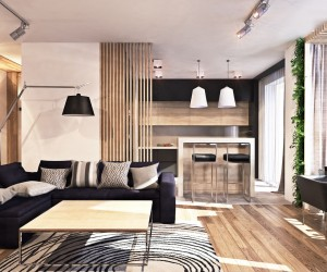 ... A Contemporary Apartment With Lots Of Open Space ...