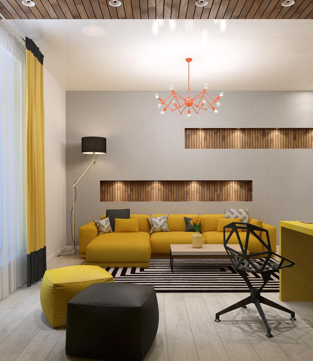 mustard-sofa | Interior Design Ideas.