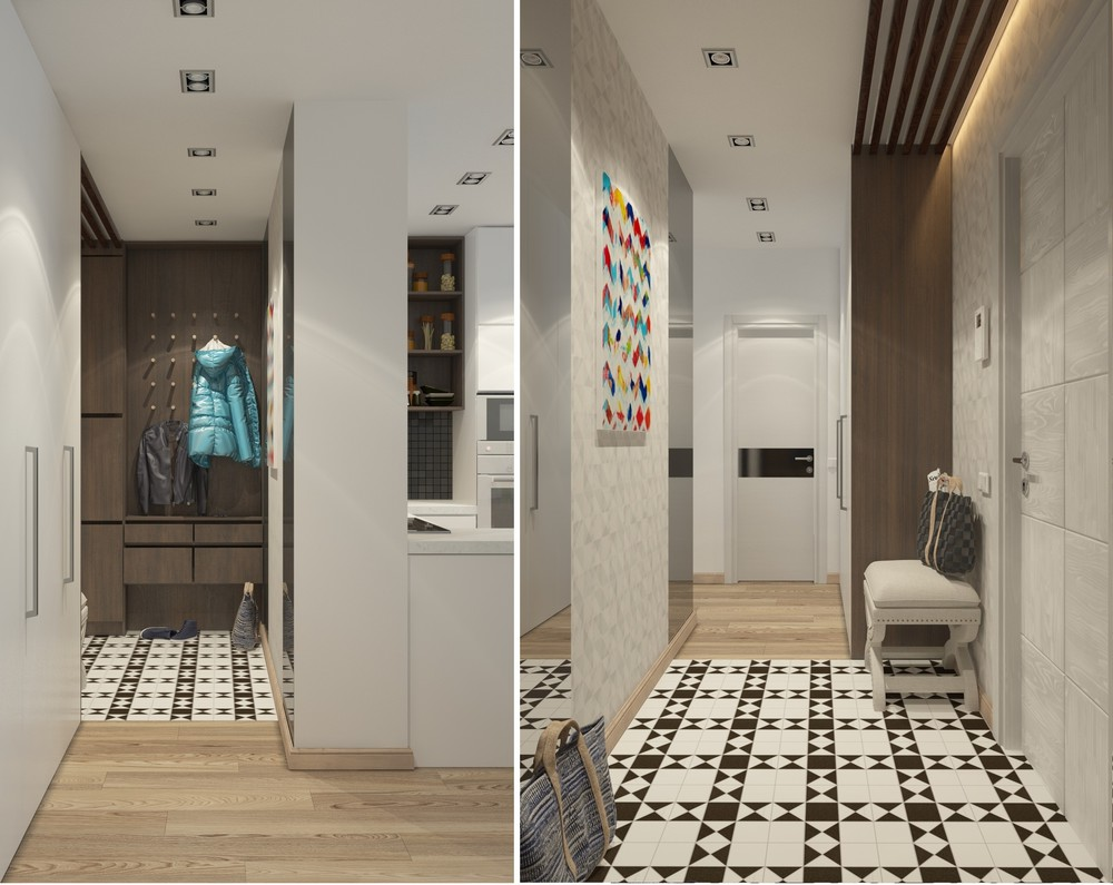Pattern Tile - 5 apartment designs under 500 square feet