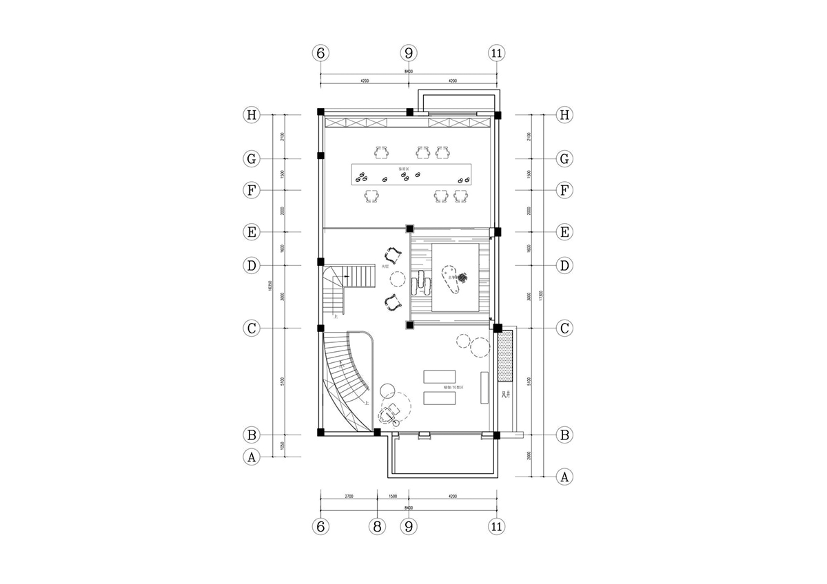 Two story house layout design