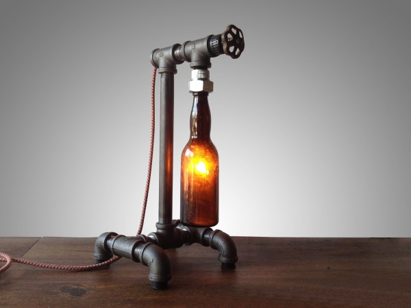 BUY IT. The Brewmeister Industrial Table Lamp ...