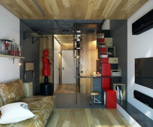 Small Space Interior Design Ideas Part - Designing for small spaces 3 beautiful micro lofts