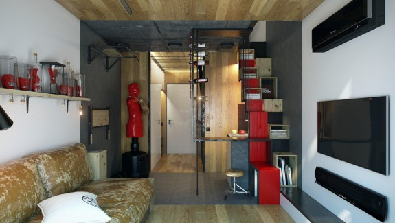 Micro home design a super tiny apartment with just 18 square meter area under