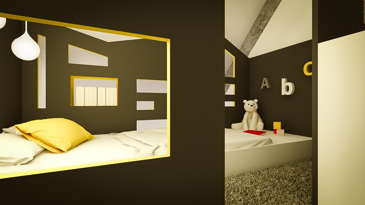 Black And Yellow Interior - 3 creative interiors that utilize bright accents