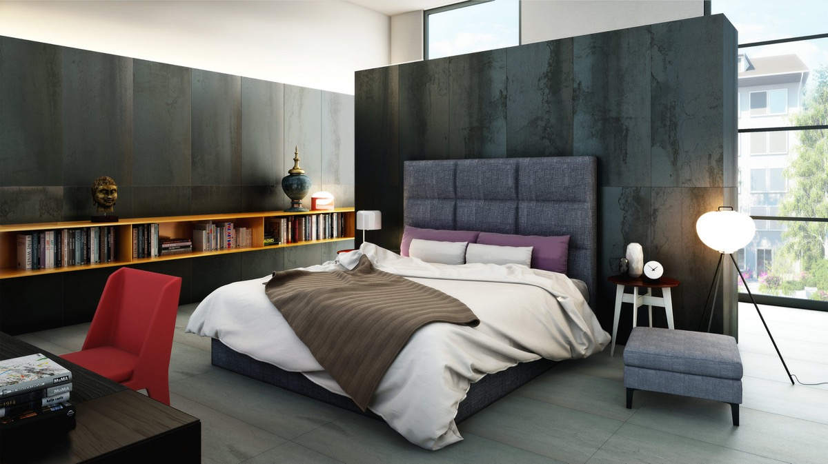 Bedroom wall textures ideas inspiration for Bedroom inspiration for small rooms