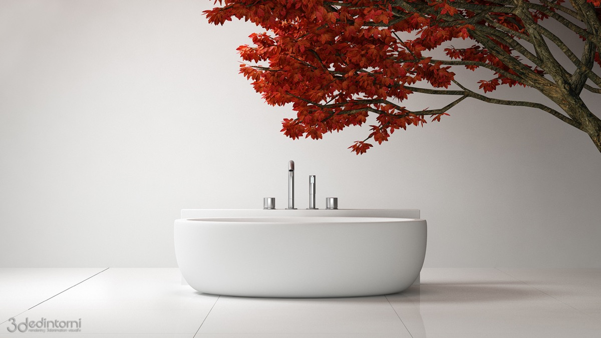 Freestanding Spa Tub - 36 bathtub ideas with luxurious appeal