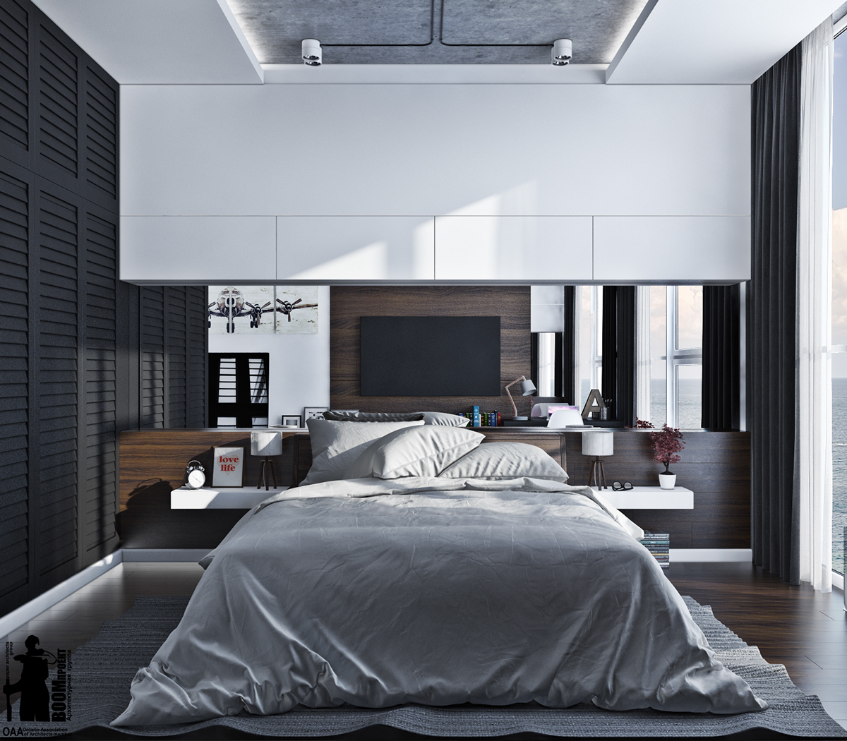 Stylish Bedrooms Amusing 7 Stylish Bedrooms With Lots Of Detail
