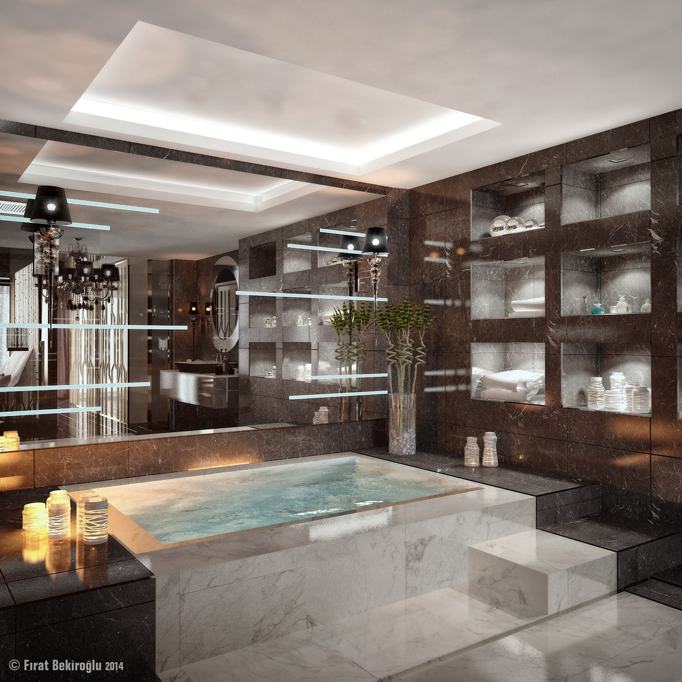 Indoor Jacuzzi Interior Design Ideas