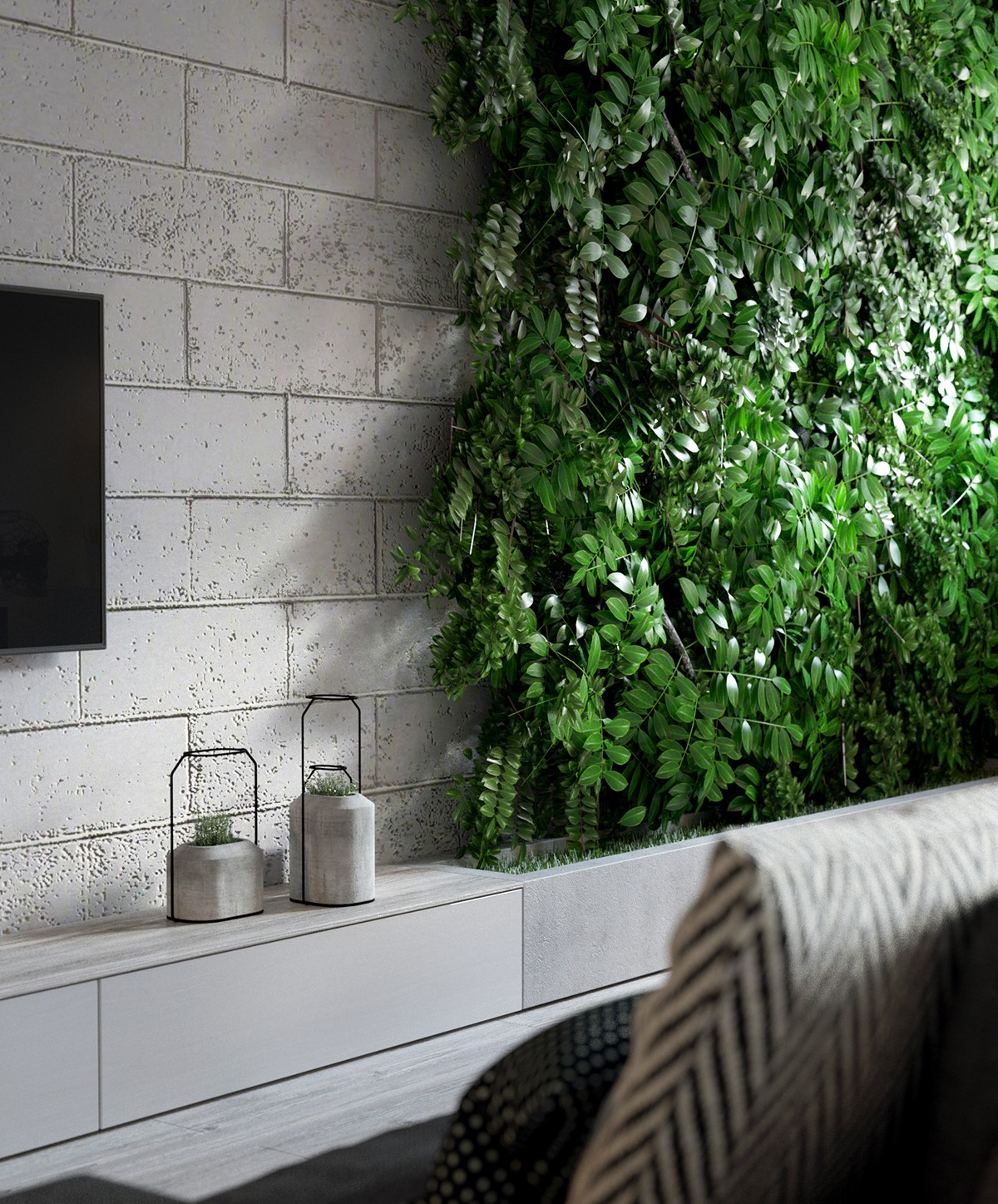 Indoor Wall Garden Ideas Interior Design