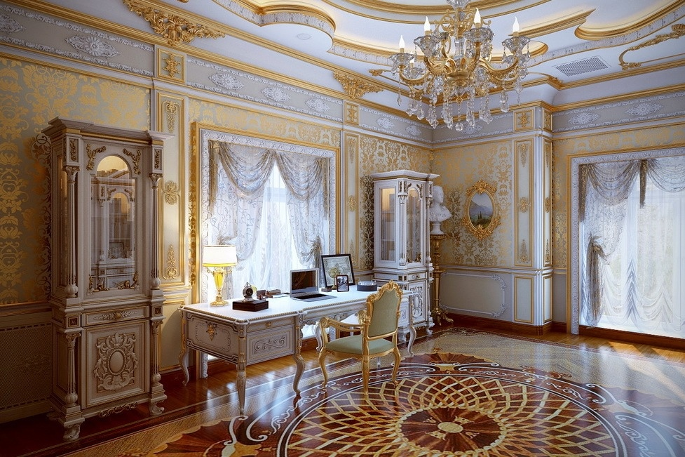 5 luxurious interiors inspired by louis era french design for Luxury classic house