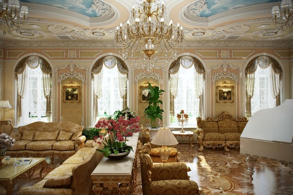 Charming Luxury Home 5 Luxurious Interiors Inspired By Louis Era French Design 5 Luxurious  Interiors Inspired