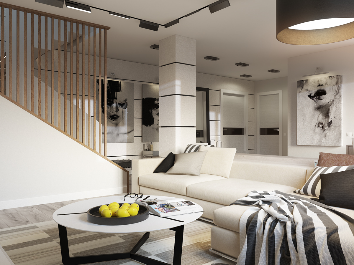 Neutral Design - 4 beautiful homes with a white theme