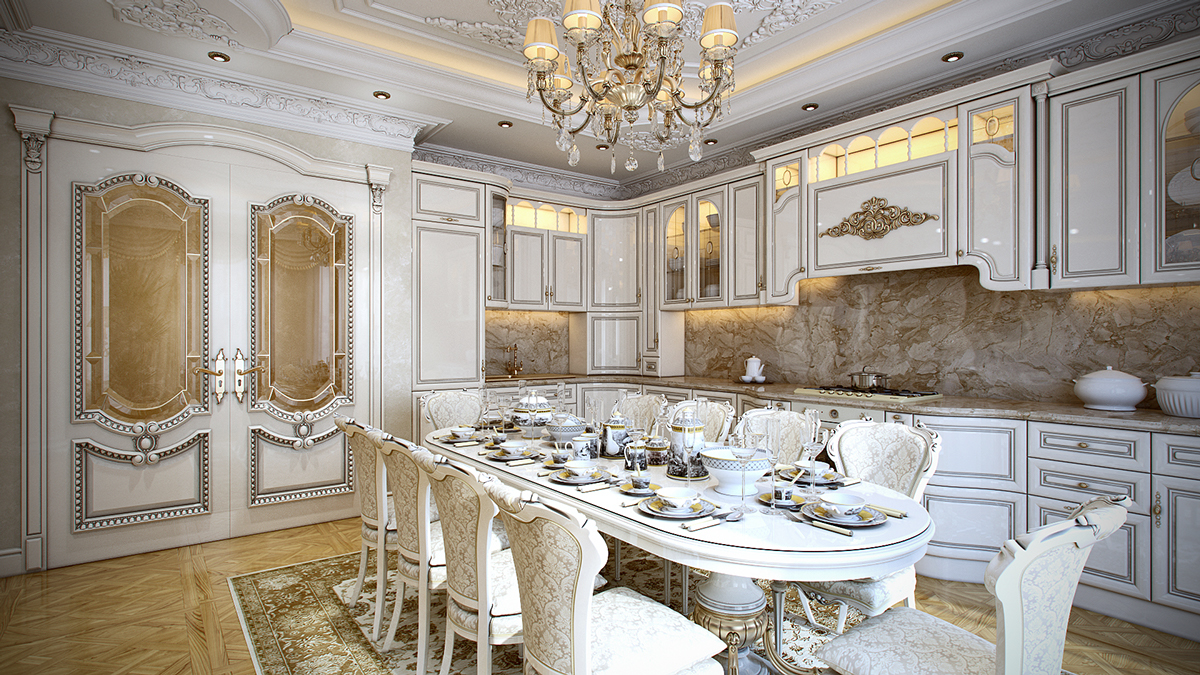5 luxurious interiors inspired by louis era french design for French provincial home designs