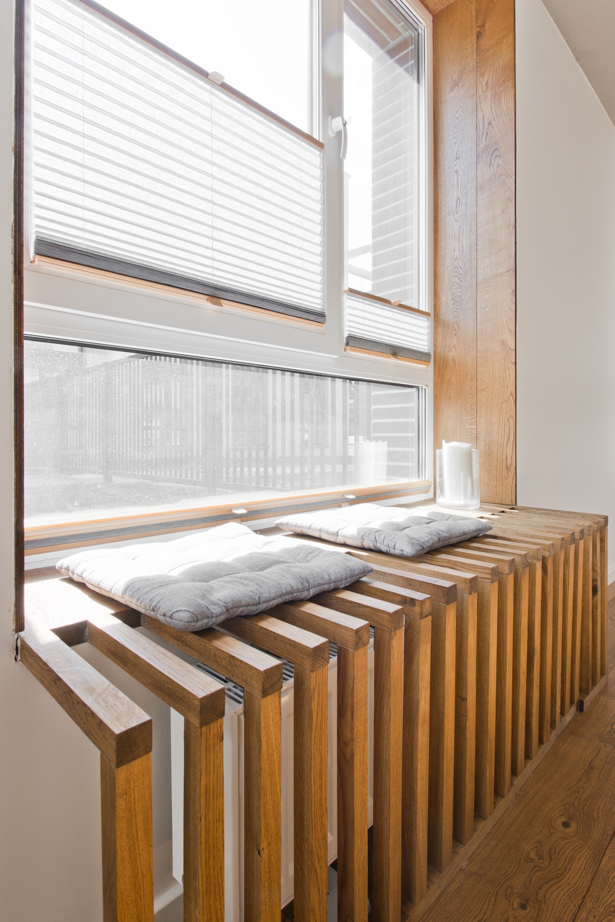 Radiator Design - Chic scandinavian loft interior