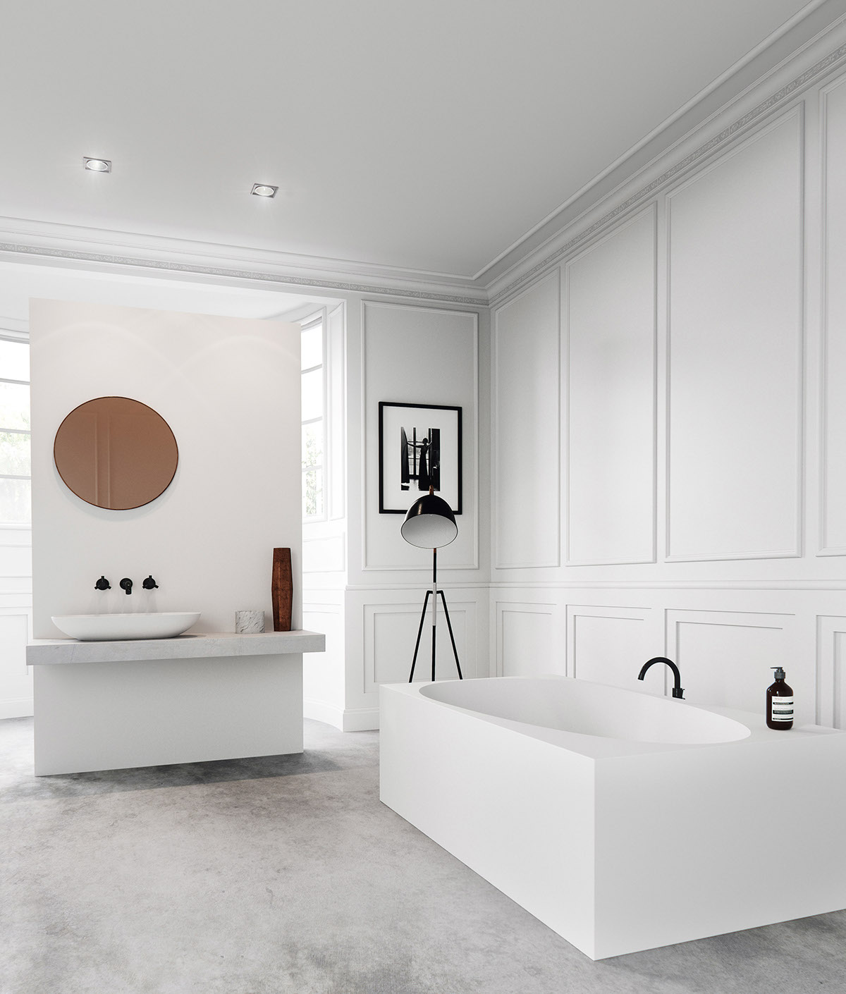 36 bathtub ideas with luxurious appeal for Bathroom design visualizer
