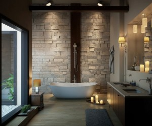 Bathroom designs interior design ideas for Toilet interior design ideas