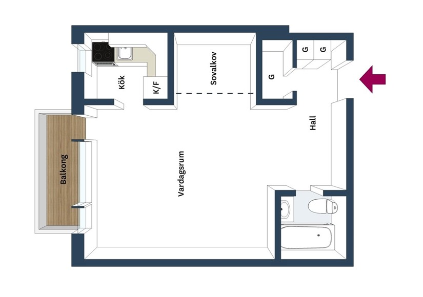Small Apartment Layout How To - 4 awesome small studio apartments with lofted beds