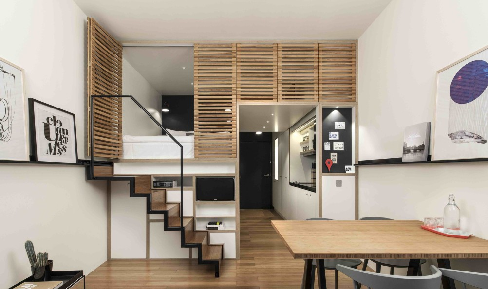 Design Small Apartments 4 awesome small studio apartments with lofted beds