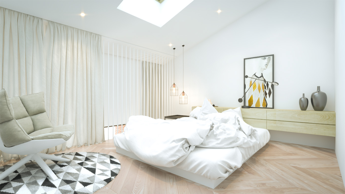 Sunny Bedroom Design - 3 creative interiors that utilize bright accents