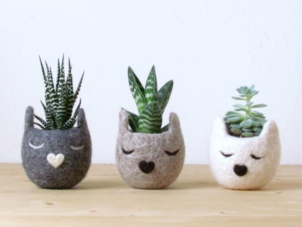 BUY IT. Another super tiny succulent ... - 50 Unique Pots & Planters You Can Buy Right Now