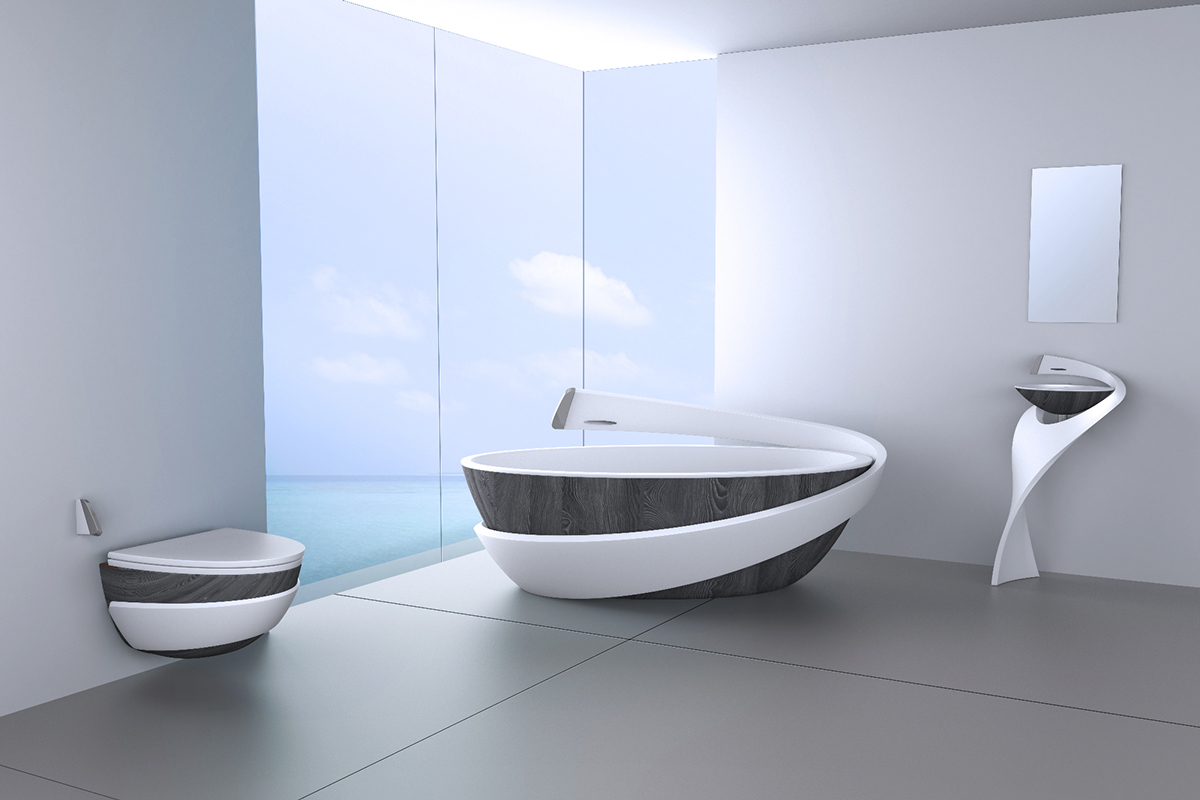 36 bathtub ideas with luxurious appeal for Modern bathroom designs 2016