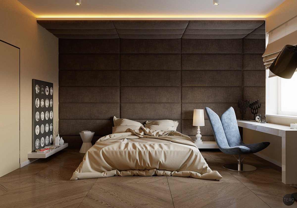 bedroom wall textures ideas inspiration - Bedrooms Walls Designs