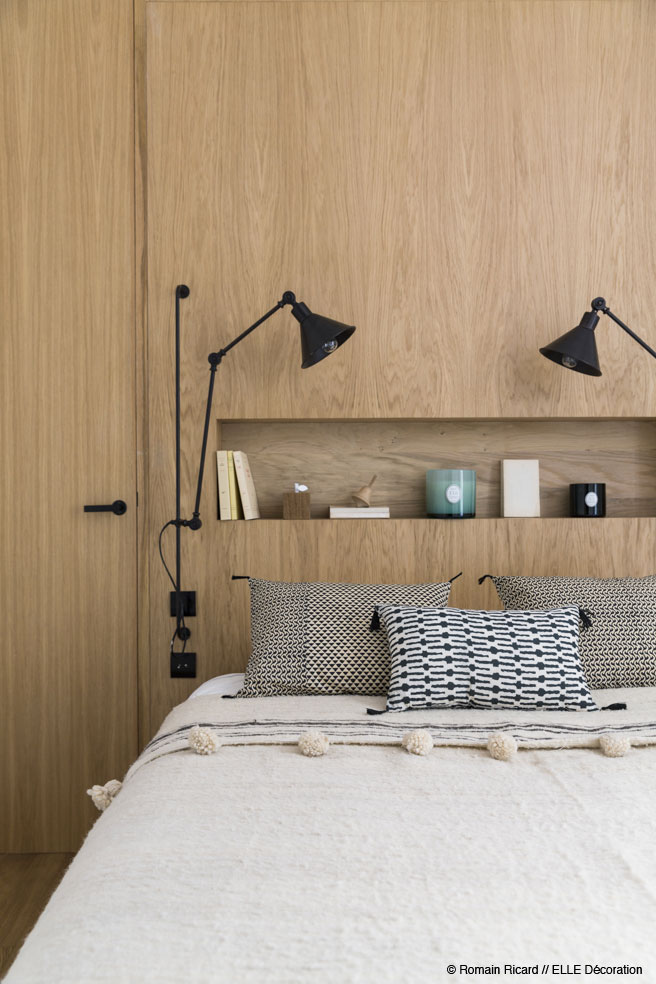 Wall Mounted Lamps - 2 small and cute french apartments under 50 square meters