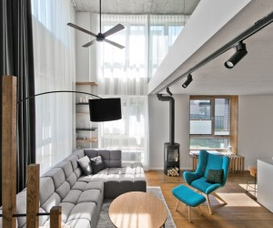 An Open And Stylish Scandinavian Style Loft ...