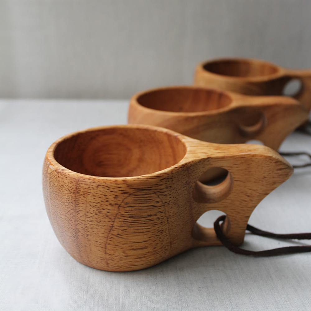 Wooden mug interior design ideas Unique coffee cups mugs