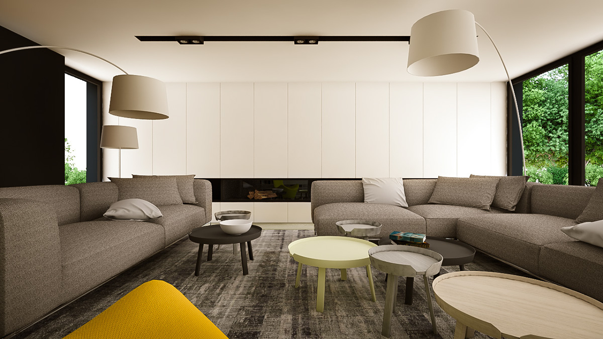 Yellow Design Accent - 3 creative interiors that utilize bright accents