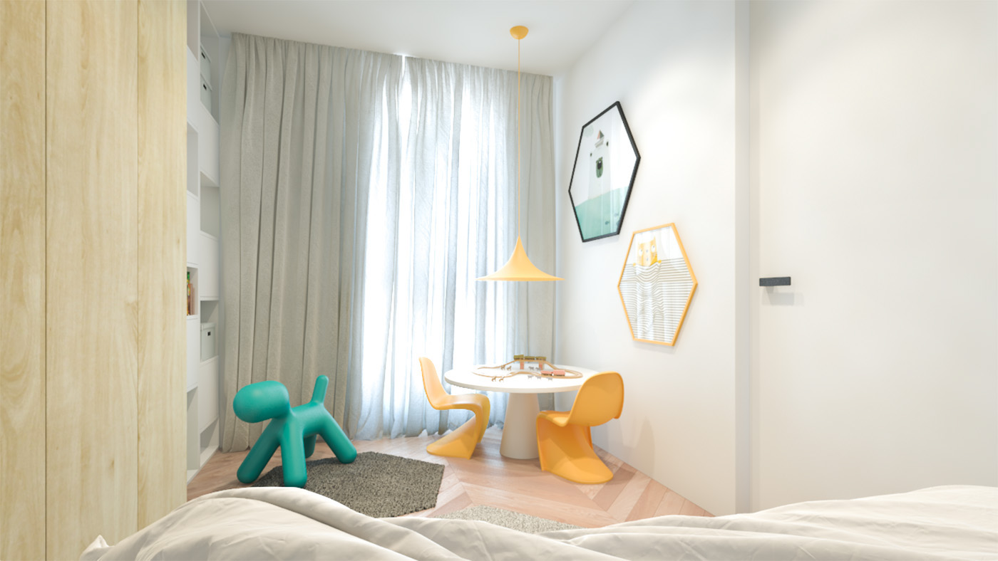 Yellow Teal Design - 3 creative interiors that utilize bright accents