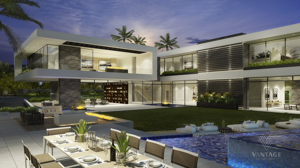 Beverly Hills Style - Exceptional architecture concepts from vantage design group