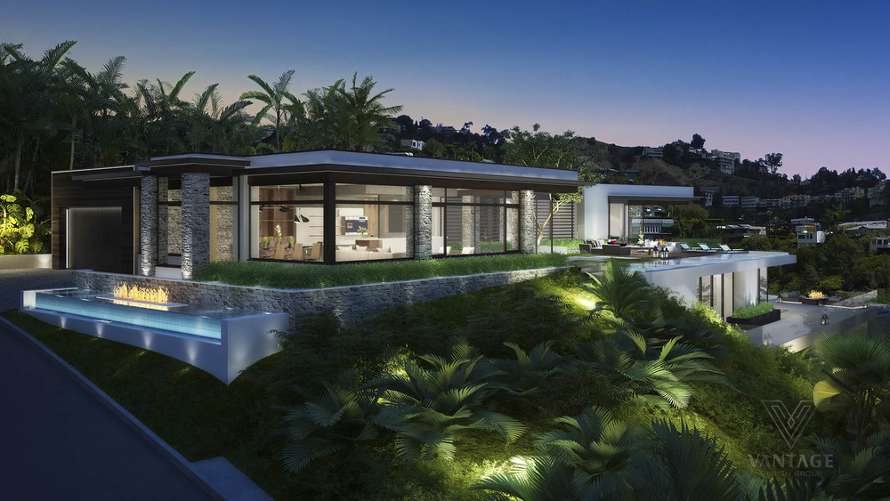 Contemporary Water Features - Exceptional architecture concepts from vantage design group