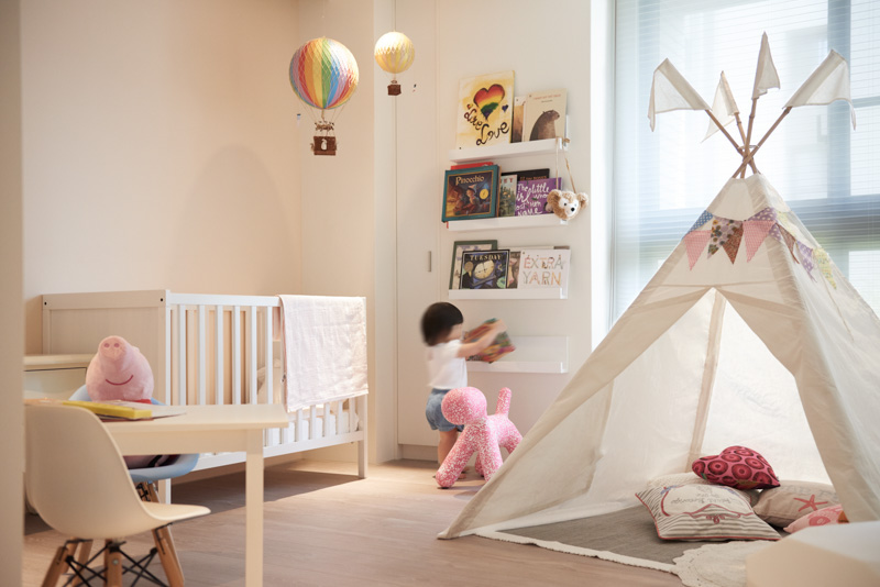 Cute Girls Tipi - A stylish family apartment from made go design