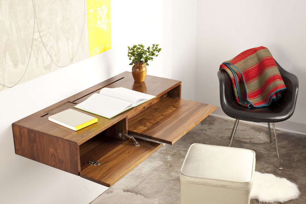 Desks for small spaces interior design ideas for Home office desks for small spaces