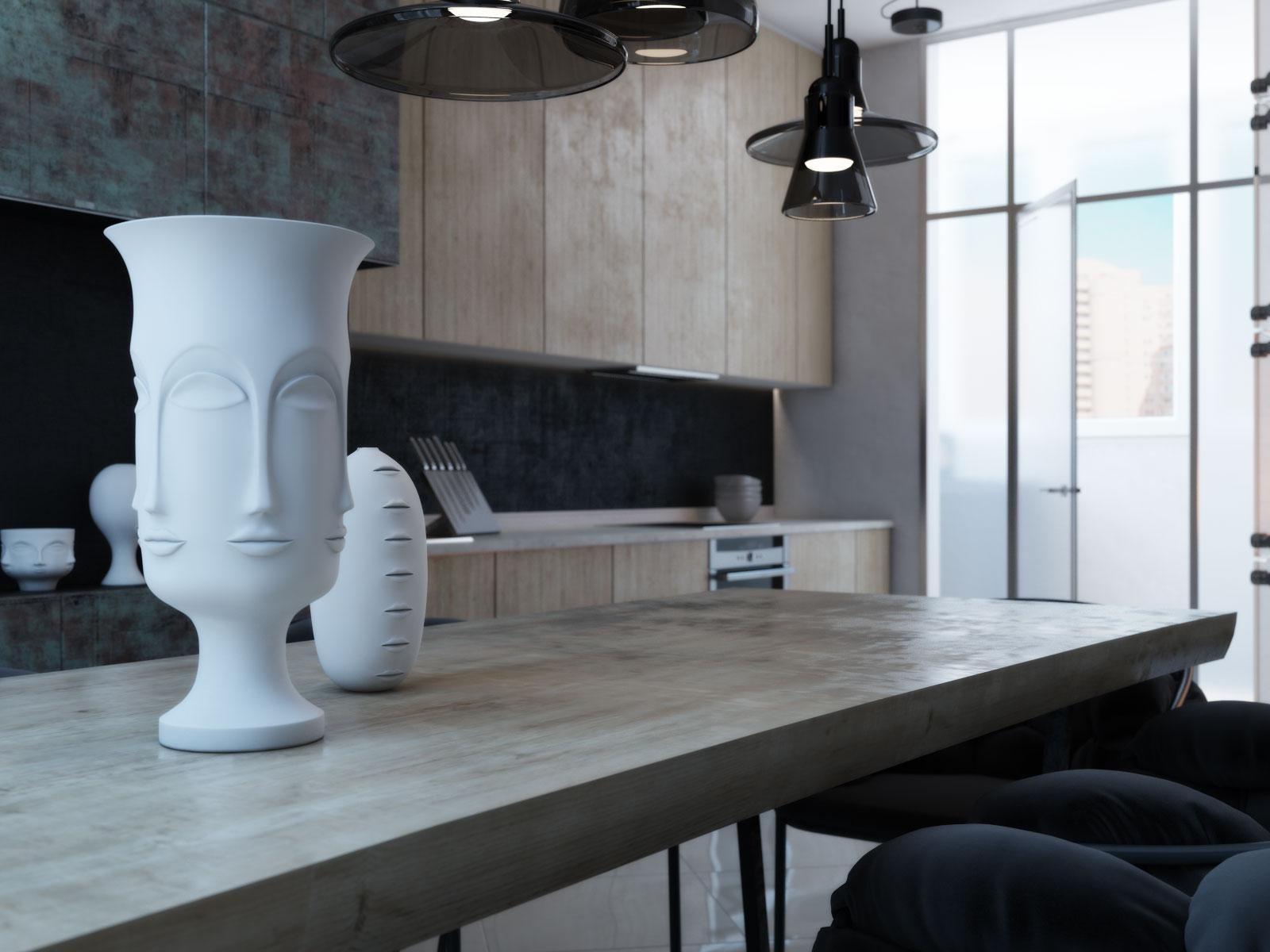 Face Vase - 4 modern homes with amazing fireplaces and creative lighting