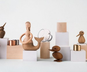 Danish Designer Figurines: Made by architects, for architects - these iconic wooden toys are from Denmark's ArchitectMade, whose design philosophy revolves around creating products that will inspire and last for generations. Designers include Kristian Vedel, Paul Anker Hansen, Hans Bølling, and other names your  recipient will surely recognize.