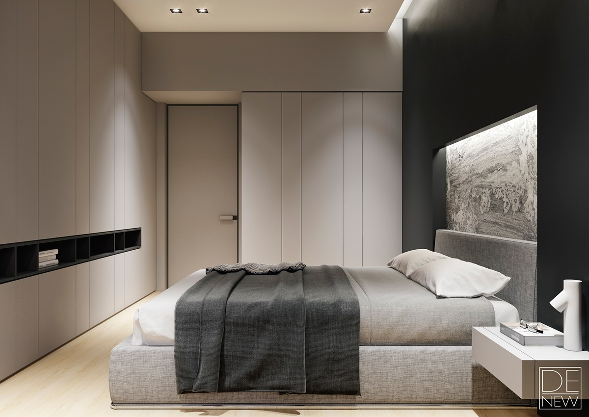 luxurious neutral bedroom