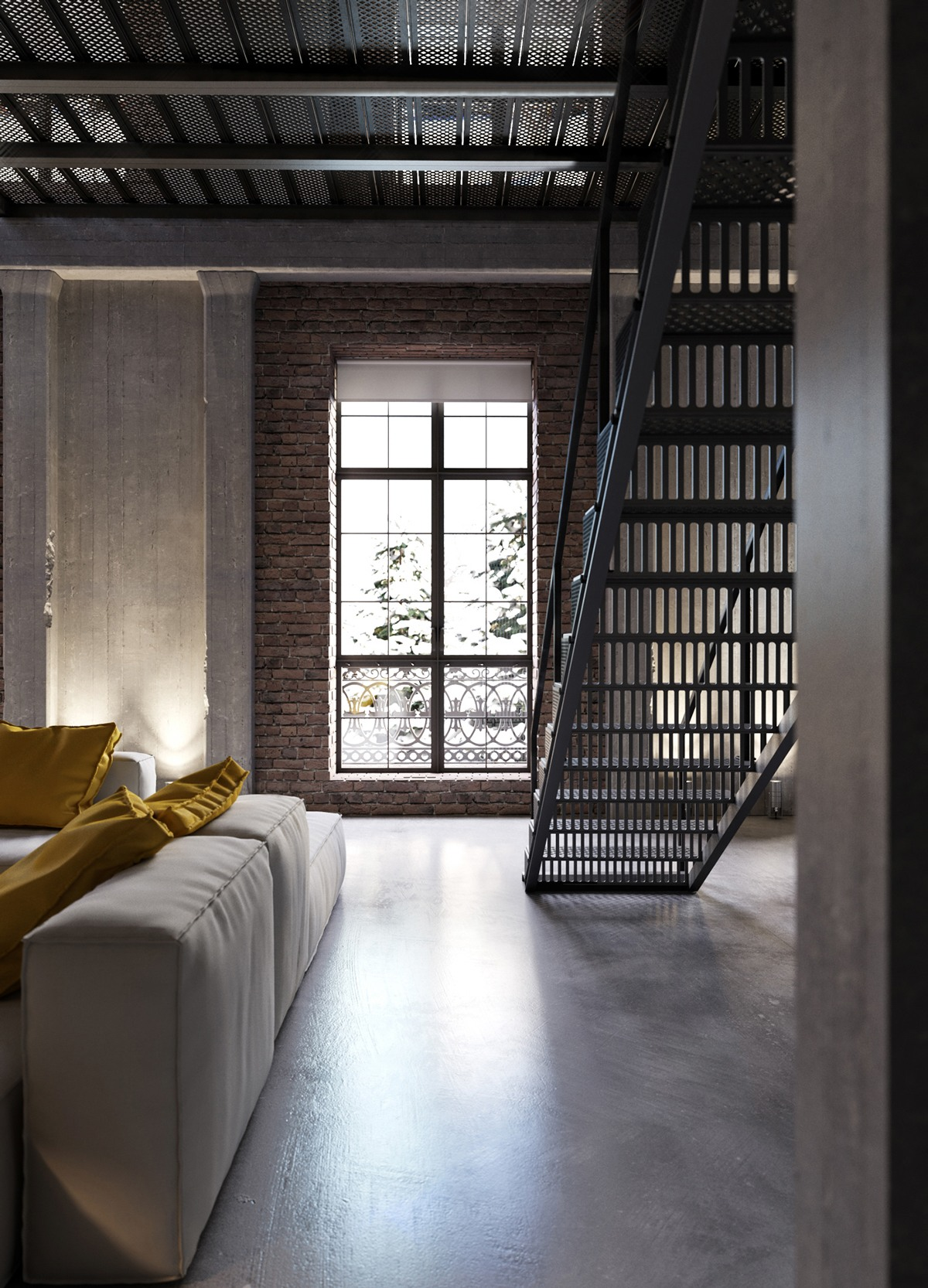 Uncategorized Industrial Look an industrial inspired apartment with sophisticated style