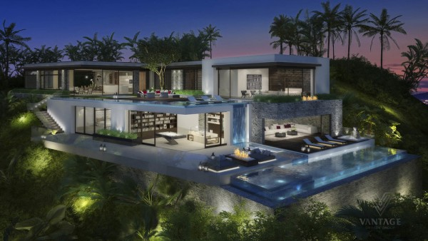 The Bird Streets neighborhood is one of the most exclusive and highly sought-after enclaves in the Hollywood Hills and this home concept certainly lives up to the expectations of the area.