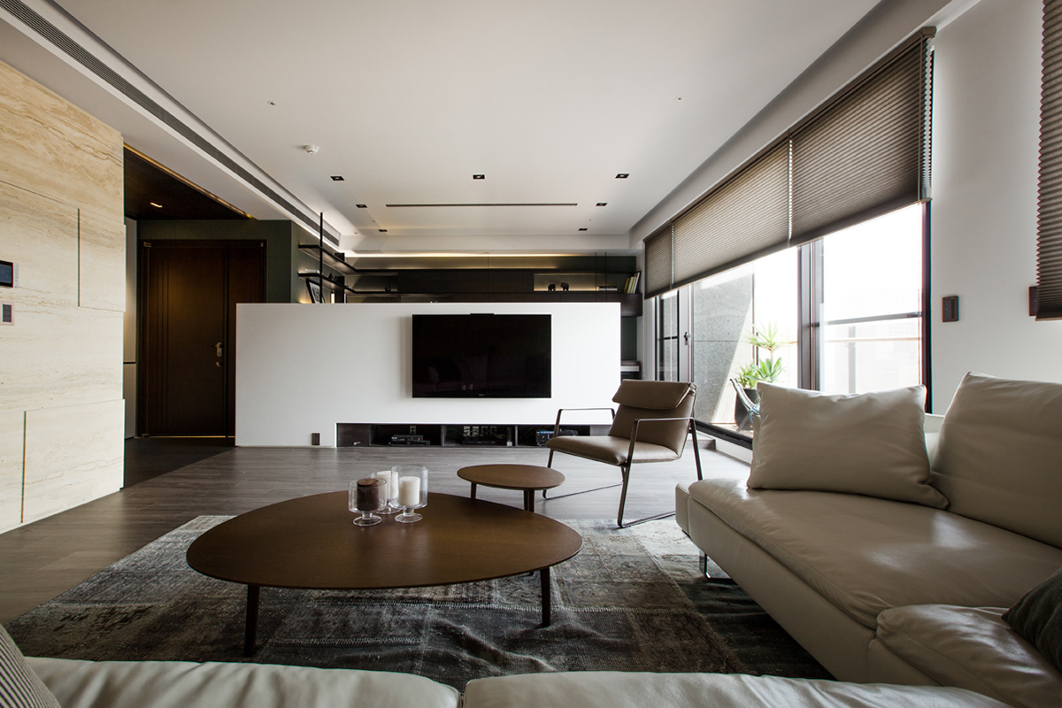 Asian interior design trends in two modern homes with for Decoration contemporaine interieur