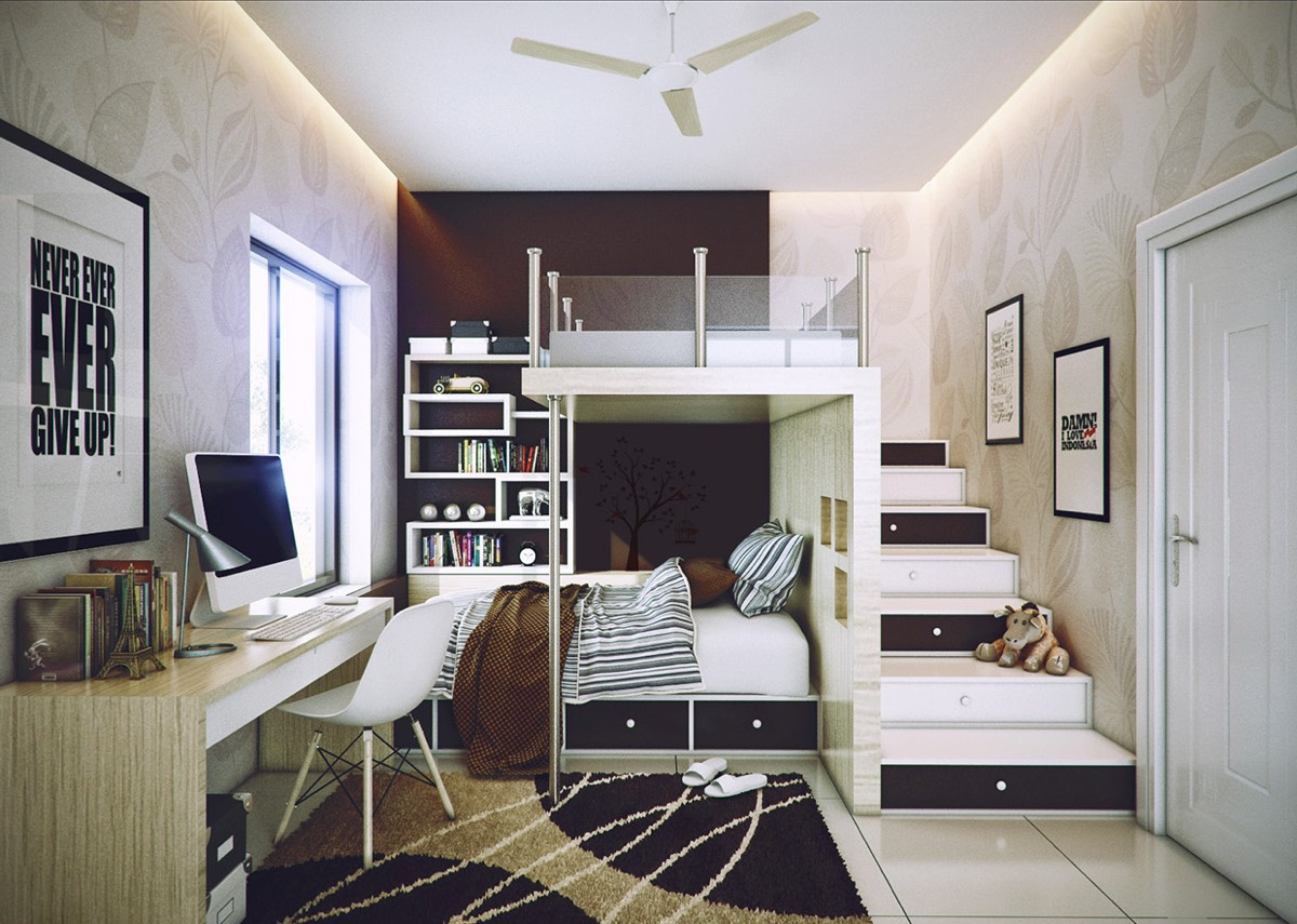 Bedroom loft for teens - Bedroom Loft For Teens 8