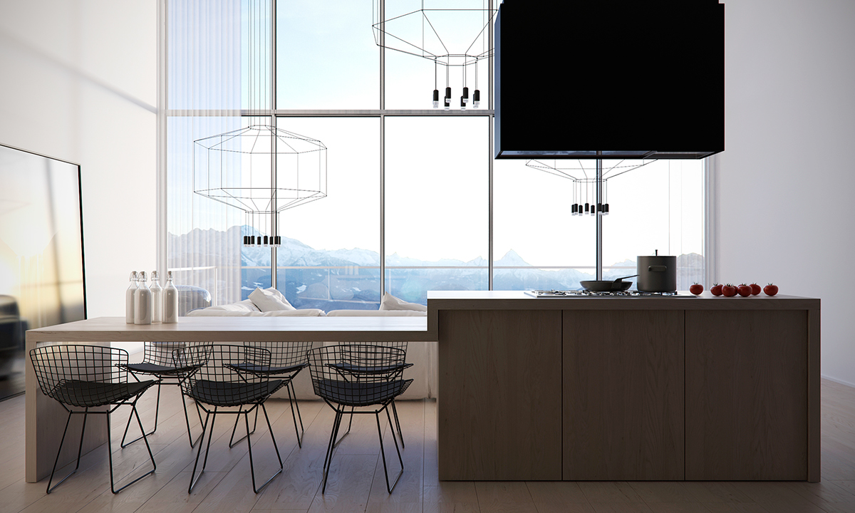 Arik Levy Wireflow Lamps - Four homes with four different takes on integrated storage